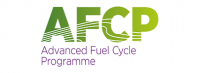 AFCP Advanced Fuel Cycle Programme support logo